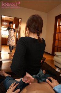 「僕には妻がいるのに…」ノーブラおっぱい誘惑全開で僕をフル勃起させてくる妻のFカップ妹 伊藤舞雪